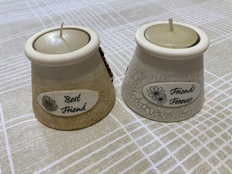 Friendship Candle Holders With Tealight Included  Thumbnail