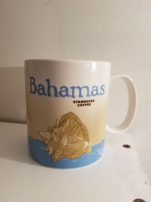 2011 STARBUCKS BAHAMAS Mug Cup 16 OZ Global Icon Series Shell for Sale in Montclair, VA