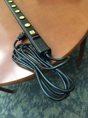 Long extension cord with USB ports for Sale in Washington, DC