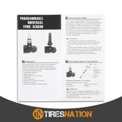 (4) Tire Air Pressure Sensor TPMS Metal Valve For Nissan Altima 2006-11 Thumbnail