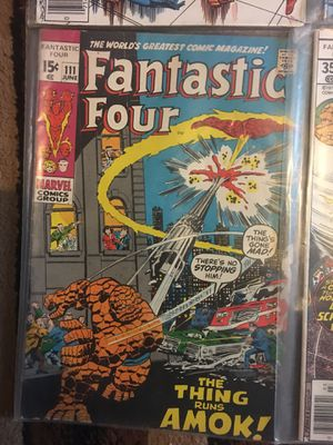Fantastic four comic books vintage 80'S for Sale in Fort Washington, MD