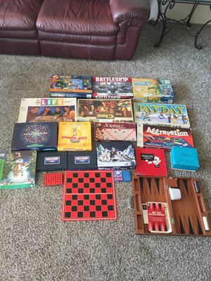 20 kid & adult games for Sale in Bellevue, WA
