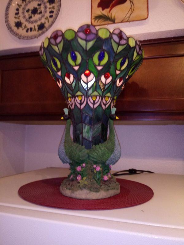 Offerup Las Vegas >> Tiffany peacok lamp for Sale in Las Vegas, NV - OfferUp