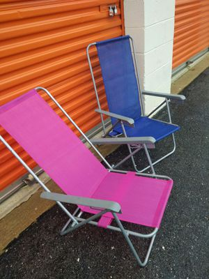 Two Beach chairs for Sale in Washington, DC