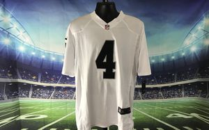 0a9a29ade Oakland Raiders  4 Derek Carr Nike White Game Jersey for Sale in Elk Grove