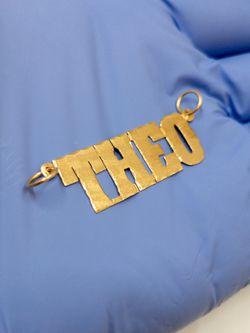 10k Gold Nameplate Theo Thumbnail
