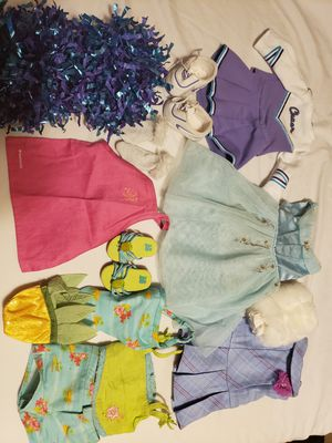 Photo American Girl Doll clothes, shoes, and accessories lot