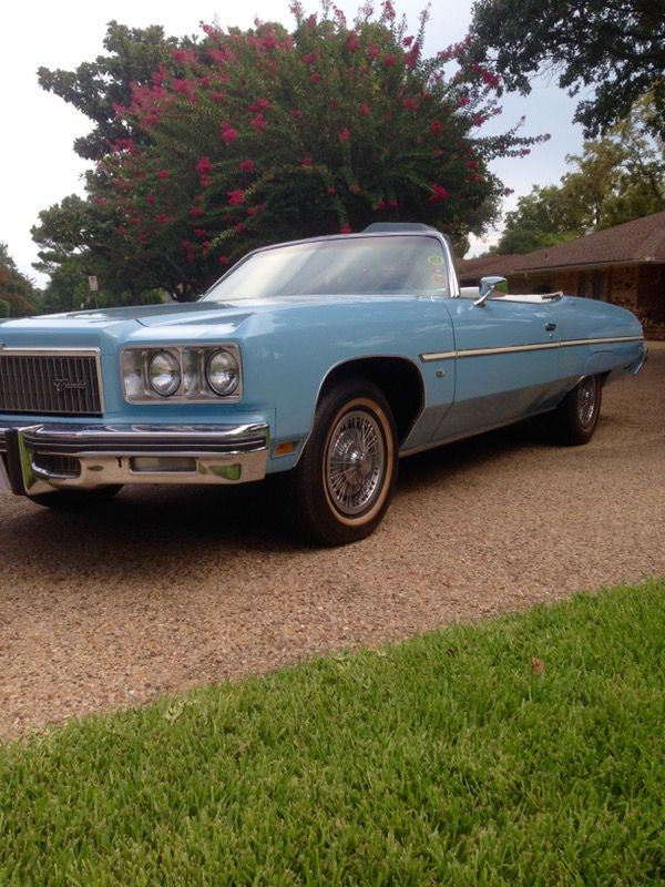 1975 Caprice Classic Convertible ----- (Cars & Trucks) in Dallas, TX ...