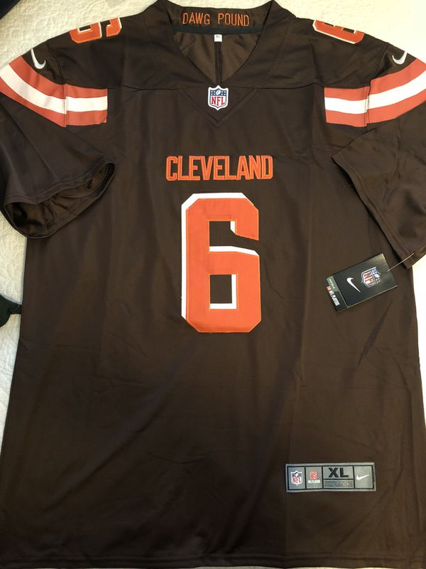 Cheap Baker Mayfield Cleveland Browns Jersey : Ship To You for Sale in San  for sale