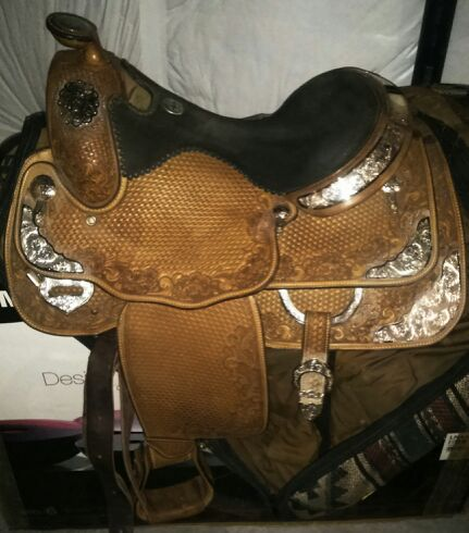 Billy cook western pleasure show saddle