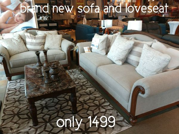 Enjoyable Brand New Sofa And Loveseat 303 For Sale In Cherry Valley Il Offerup Download Free Architecture Designs Scobabritishbridgeorg