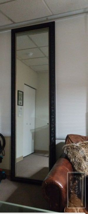 8 ft 6 in leaning mirror for Sale in Seattle, WA