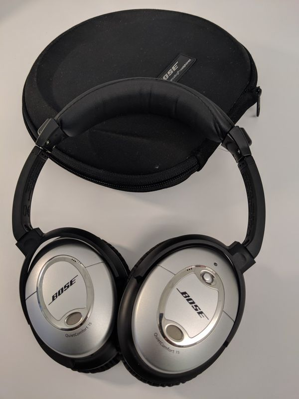2032c9bb77e Bose QC15 QuietComfort 15 Acoustic Noise Cancelling Headphones for ...