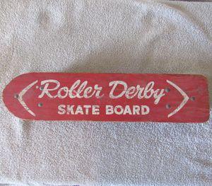 Vintage 1950's roller derby skateboard for Sale in Austin, TX