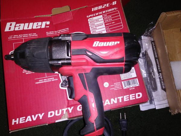 New Bauer 1/2 inch Heavy Duty Impact Wrench for Sale    for Sale in Hemet,  CA - OfferUp