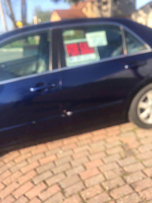 05 Honda Accord V6. 3.0lt only 12000 original miles one owner 3900 ...