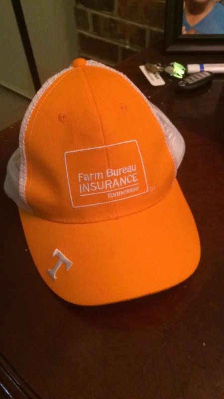 Orange Tennessee Farm bureau s hat for Sale in Knoxville aaa40716cb4