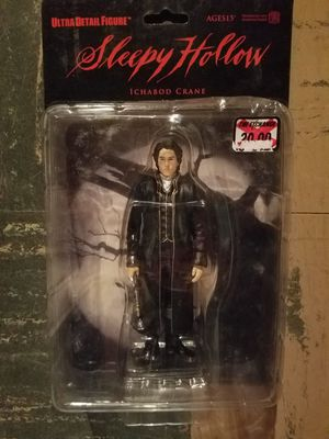 New in Box Mcfarlane Toys Ichabod Crane Sleepy Hollow Collectible Acrion Figure for Sale in MIDDLEBRG HTS, OH
