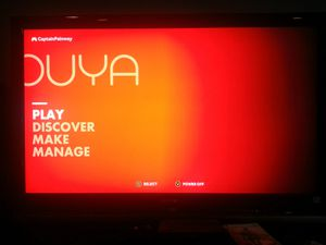 Ouya gaming system with no controller for Sale in Washington, DC