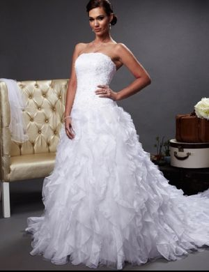 Monique Luo for David's Bridal Wedding Dress for Sale in Fort Worth, TX