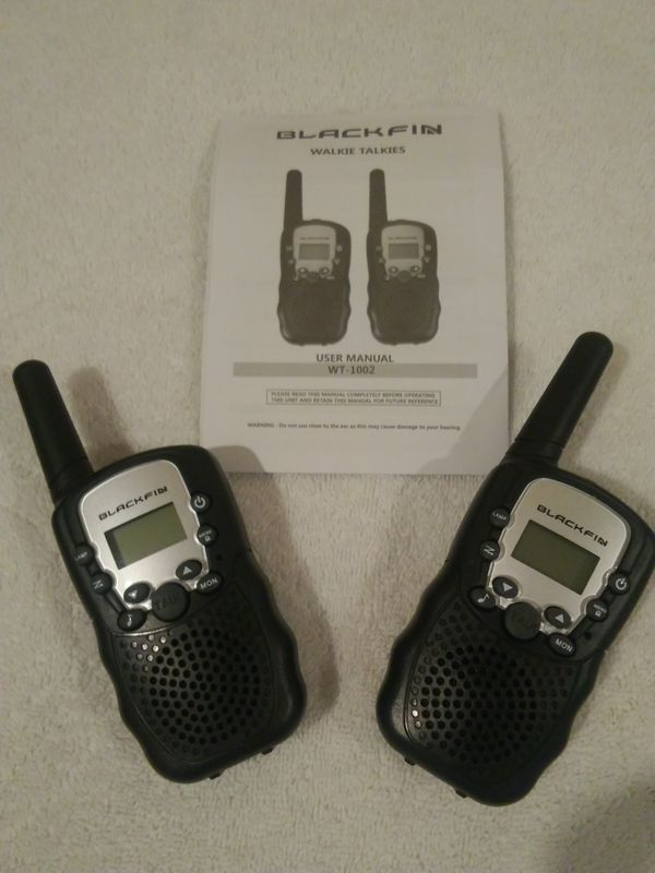 Blackfin Walkie Talkie Manual