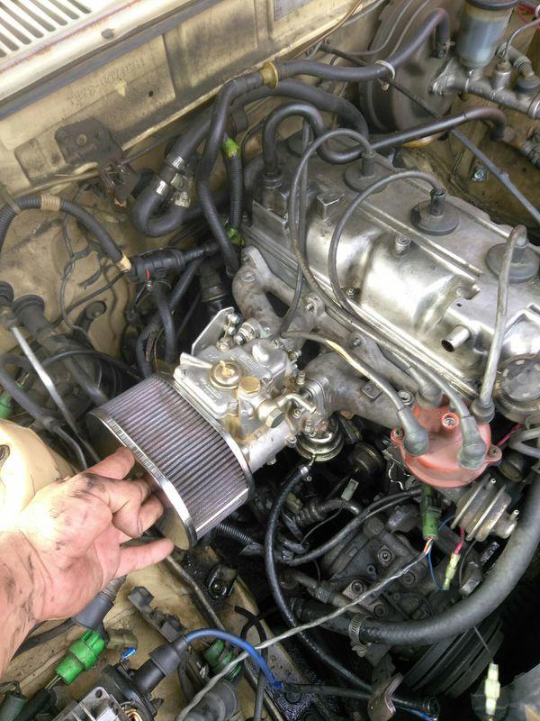 3tc intake side draft Weber ae86 rx7 Datsun 510 240z 240sx for Sale in Long  Beach, CA - OfferUp