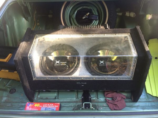 X Series C4 special edition subs for Sale in Los Angeles, CA - OfferUp