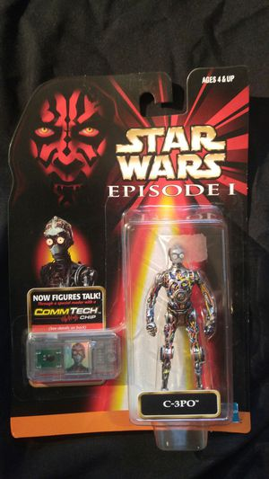 Star Wars Action Figure Episode 1 C3PO for Sale in Salt Lake City, UT