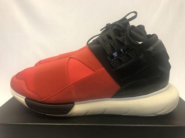 5c1068dacba Adidas Y-3 Qasa High Black Red Size 9 for Sale in Lynnwood