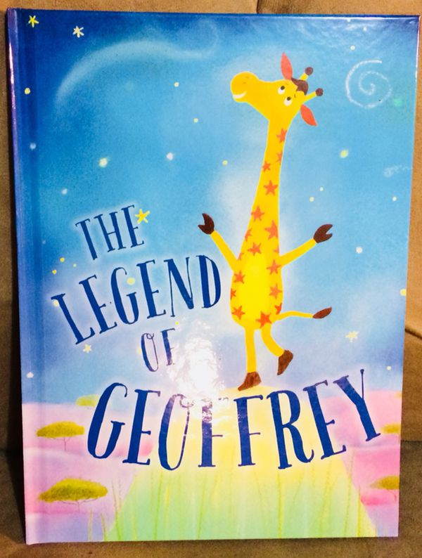 Toys R Us Birthday Club The Legend Of Geoffrey Hard Cover Book