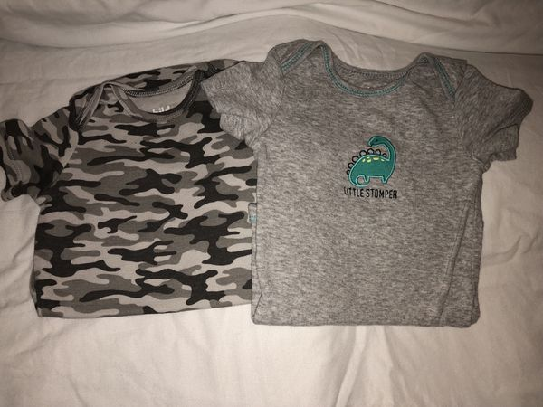 30439b2d0 Just one you by carters size 6-12 month onesies for Sale in High ...