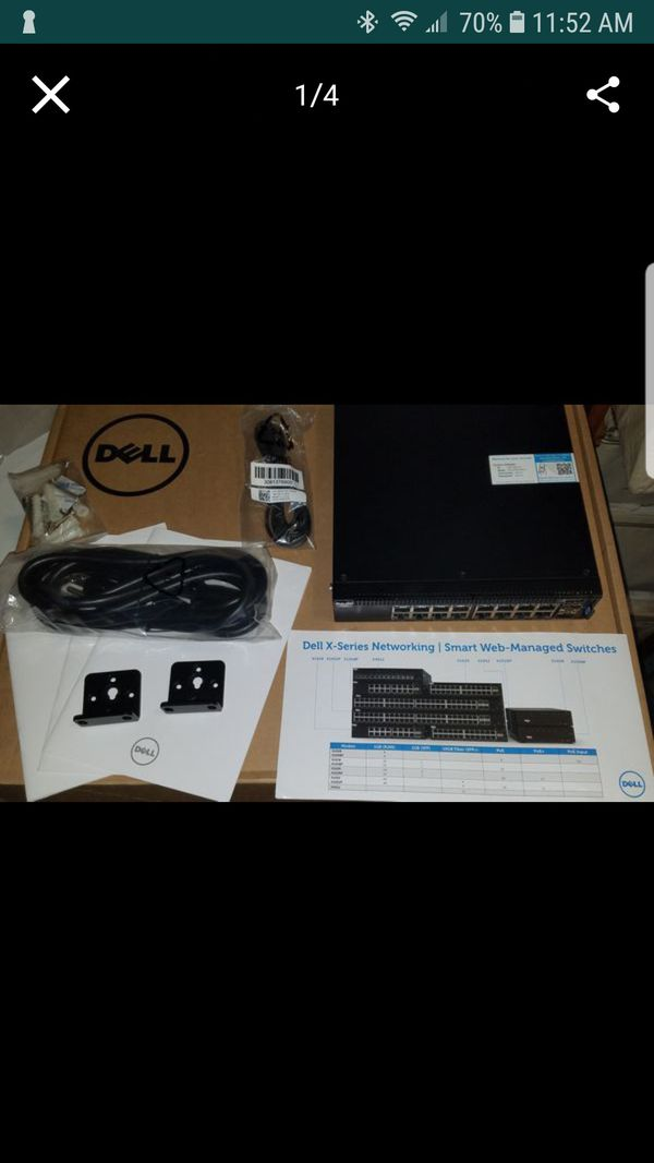 Dell X1018 Ethernet Switch for Sale in Mesquite, TX - OfferUp