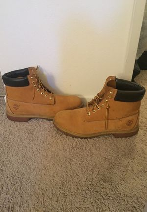 """Timberland boots """"tan"""" size 15 for Sale in Santee, CA"""