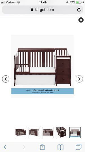 Baby crib to toddler bed for Sale in Alexandria, VA