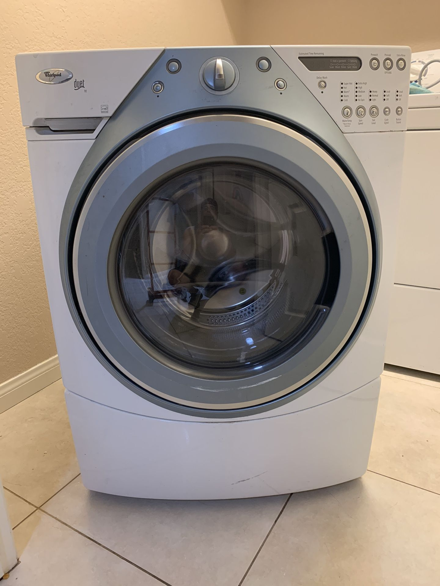 Whirlpool Front Loading Washer and Dryer