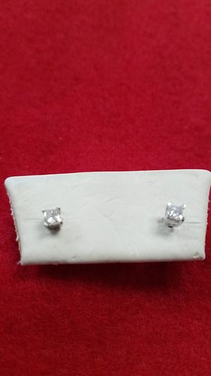 GOLD AND DIAMONDS EARRINGS for Sale in Saint Cloud, FL