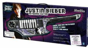 4124e6a2b65 Justin Bieber Paper Jams Keyboard Guitar for Sale in Gurnee