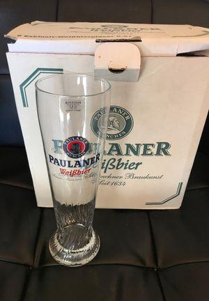 Set of 6 half-liter German hefeweizen glasses for Sale in Denver, CO