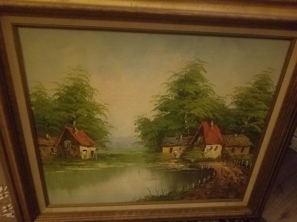 Large Beautiful Painting