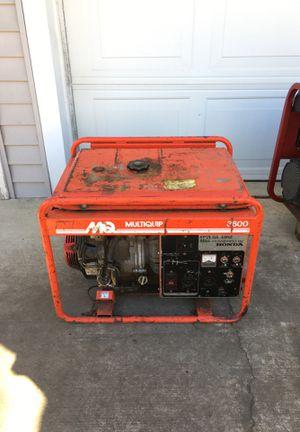 Photo Honda 9hp multiquip 3600 GA36hz generator commercial 110 and 220