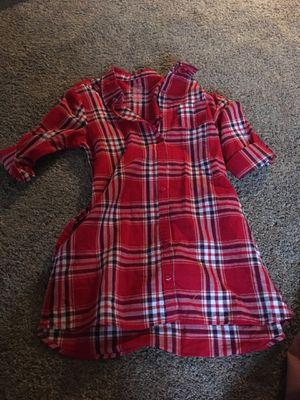 Flanal patter shirt for Sale in Ashburn, VA