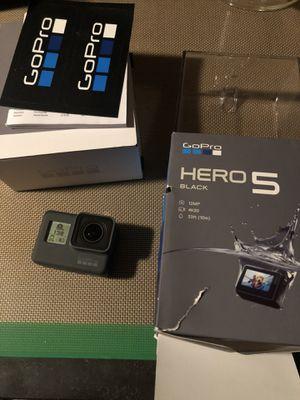 GoPro Hero 5 Black for Sale in Dallas, TX