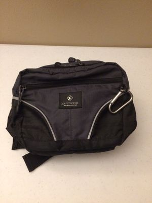 Outdoor Products hiking camping backpacking fanny pack waist bag adjustable black for Sale in Las Vegas, NV