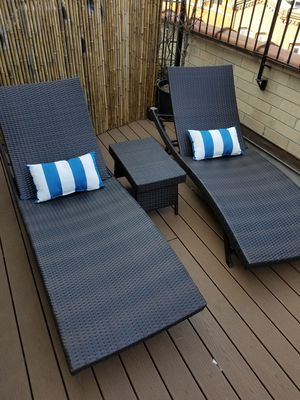 NEW Sun chair lounge SET for Sale in New York, NY