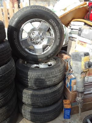 18,, Toyota rims and tires for Sale in Chillum, MD