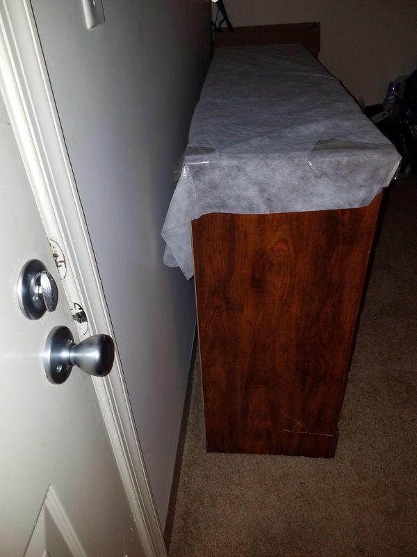 Dark wood dresser (Furniture) in Norfolk, VA - OfferUp