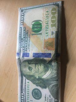 100 dollar bill wallet Thumbnail