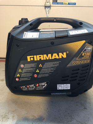 Firman 2100 Generator for Sale in Fairfax, VA