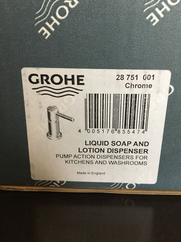 Grohe soap- lotion dispenser for Sale in Chicago, IL - OfferUp