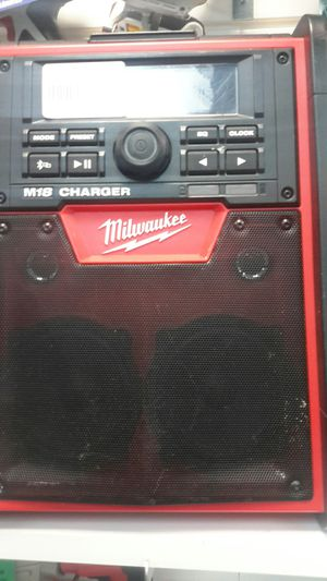 Milwaukee Stereo System for Sale in Houston, TX